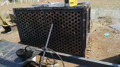Air heater bundle