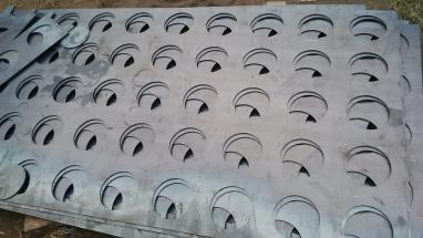 Bagfilter Tube Sheets