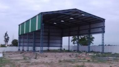 Design,supply & erection of industrial sheds