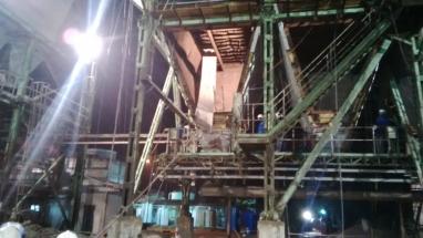 Dismantling & Erection of ESP internals @ Thailand