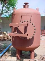 transmitter vessel for flyash